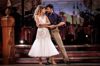 Strictly Come Dancing Rose and Giovanni in Move Week