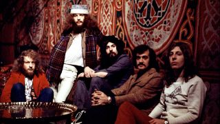 A photograph of Jethro Tull in the 70s