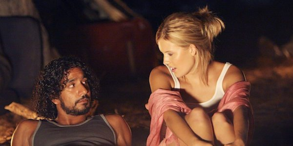 Shannon and Sayid in Lost