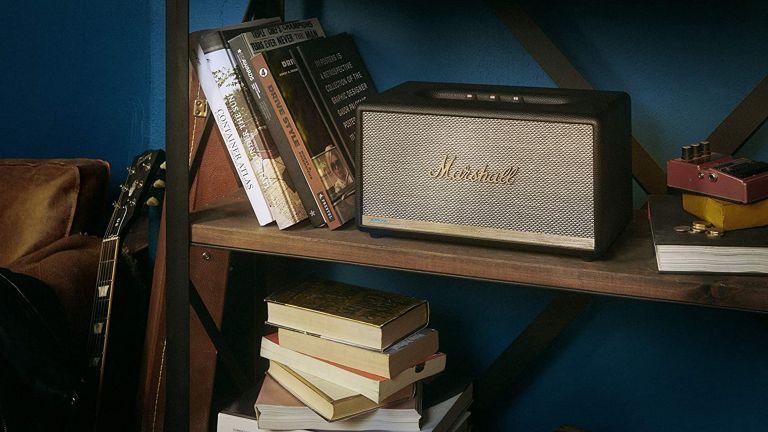 best smart speaker: Marshall Stanmore II Voice
