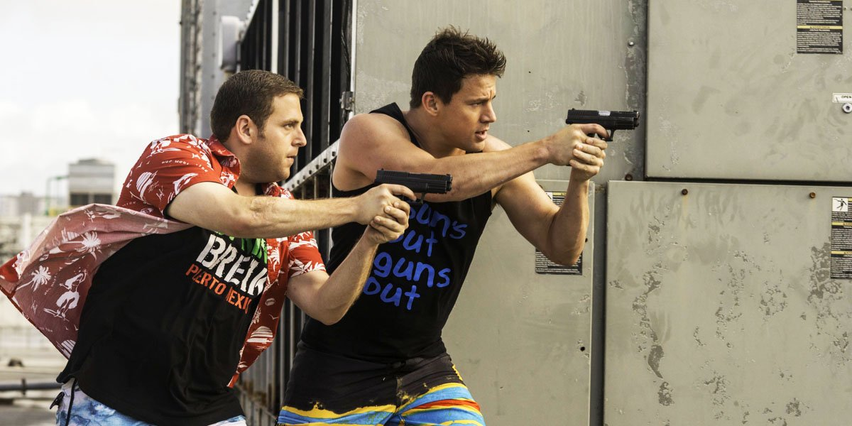 Jonah Hill and Channing Tatum in Lord and Miller's 22 Jump Street