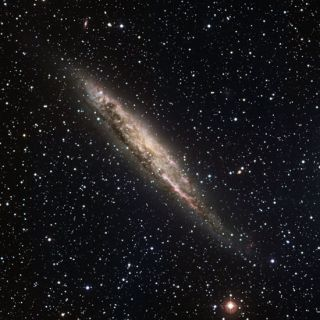 Nearby Galaxy Is Almost Milky Way Look-alike