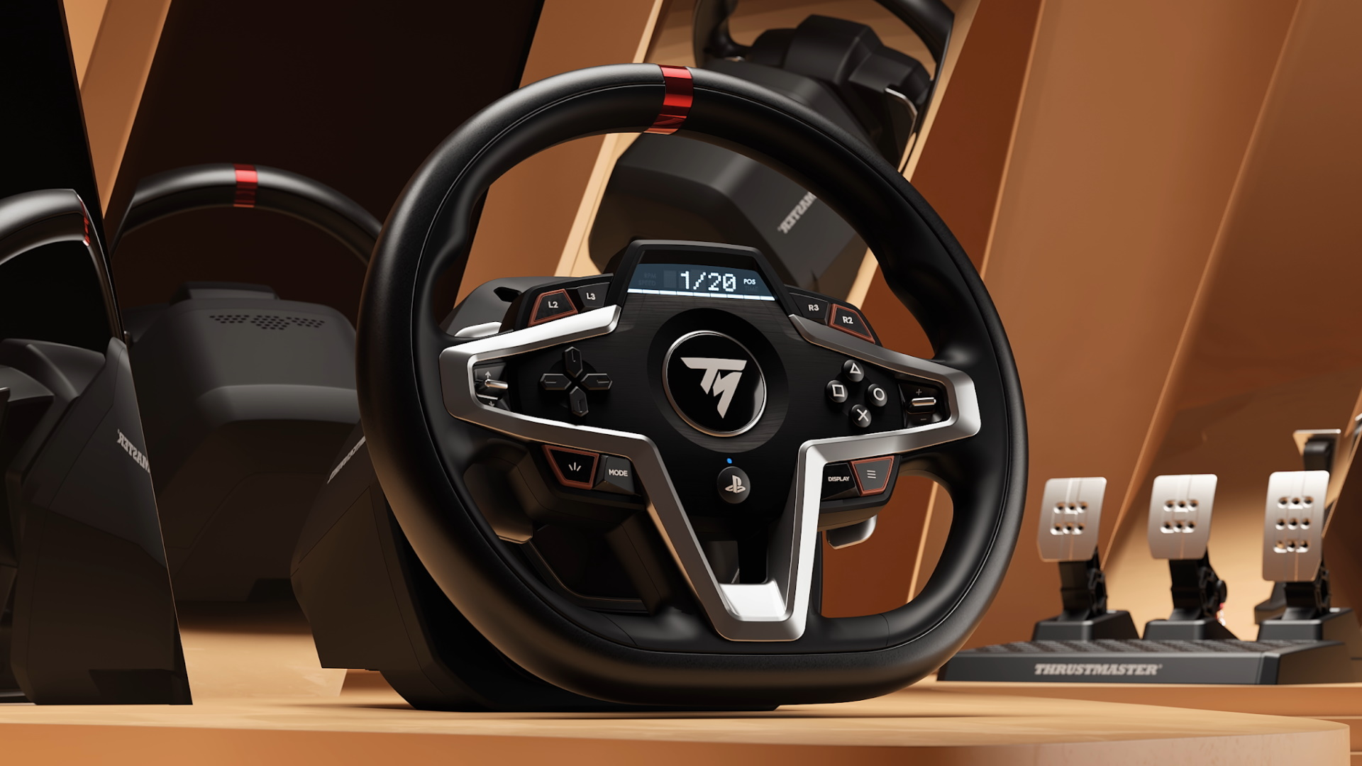 Thrustmaster unveils the T248 PS5 racing wheel