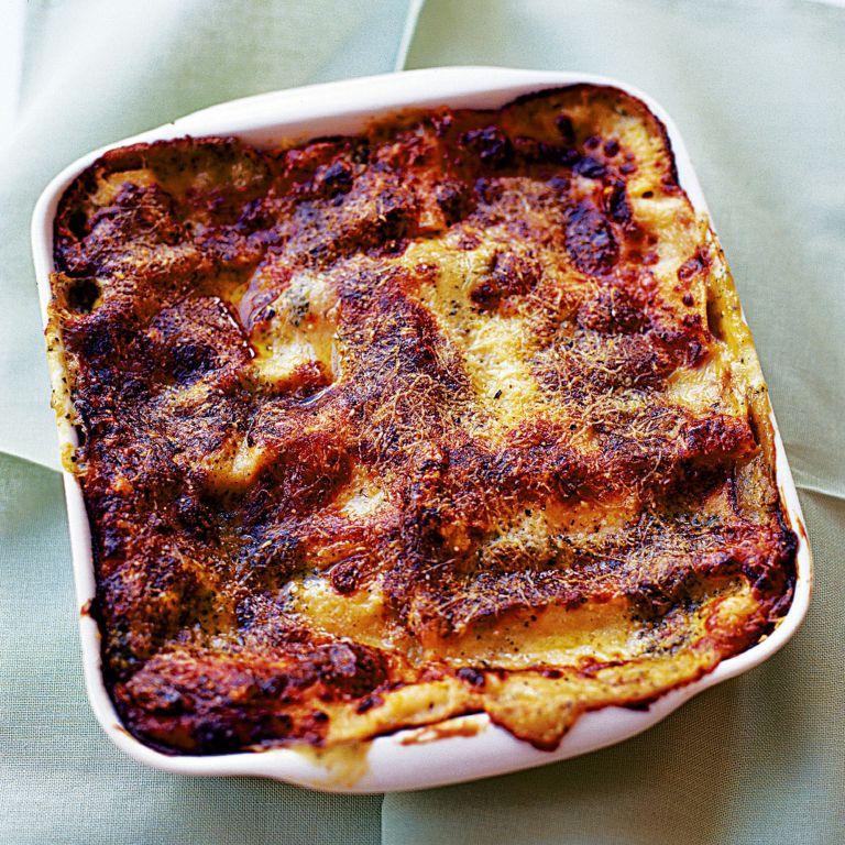 Mushroom, Pesto and Spinach Lasagne recipe-pasta recipes-recipe ideas-new recipes-woman and home