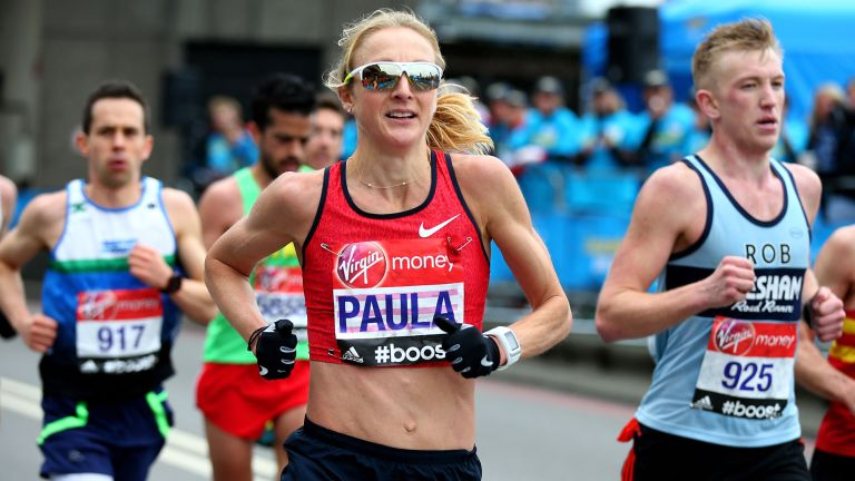 How to return to running after a break: Paula Radcliffe pictured running the London Marathon 2015