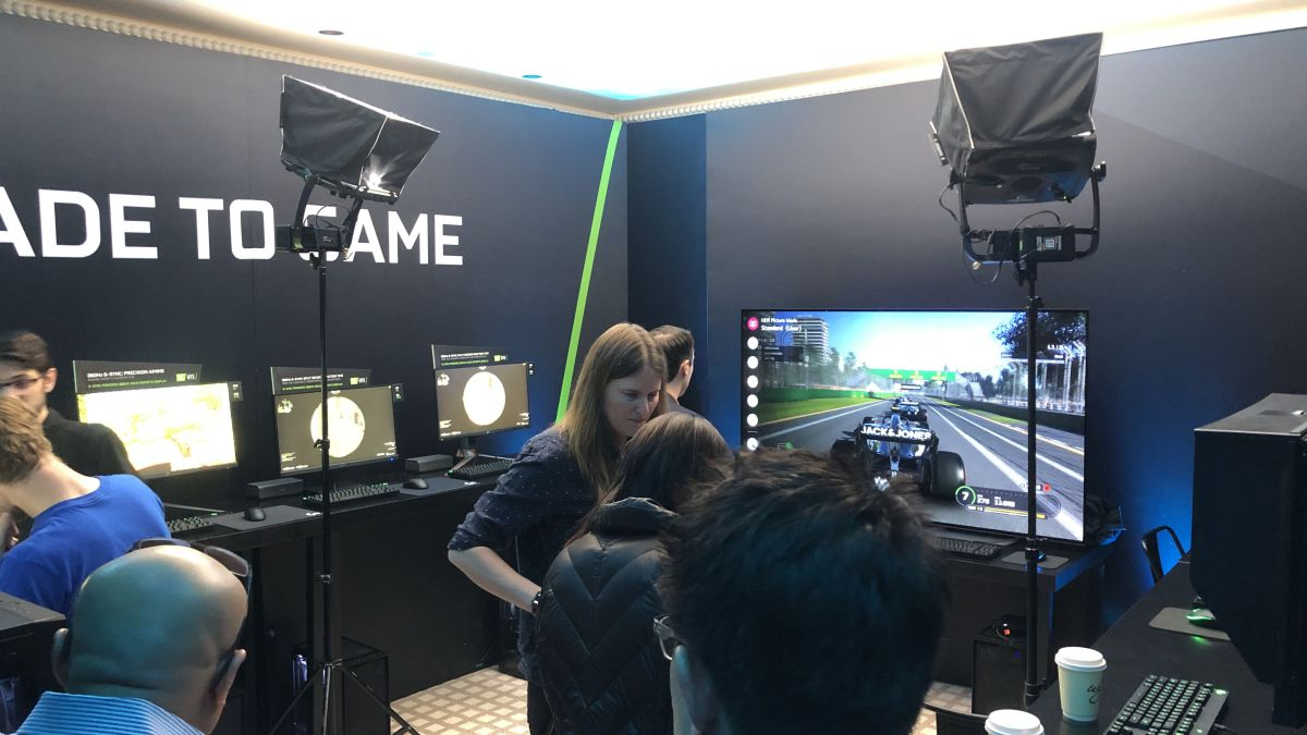 I got to use a 360Hz monitor at CES 2020, and it went better than I thought