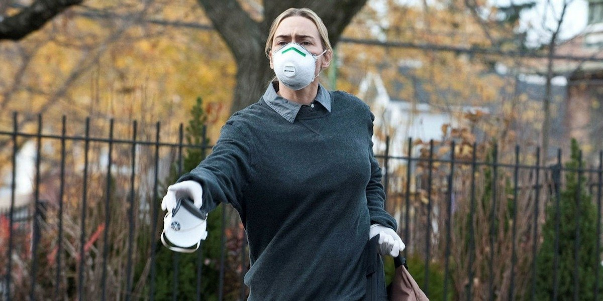 Kate Winslet as Dr. Erin Mears in Contagion