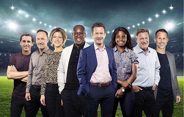 ITV World Cup presenting team