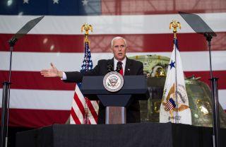 Vice President Pence Visits KSC