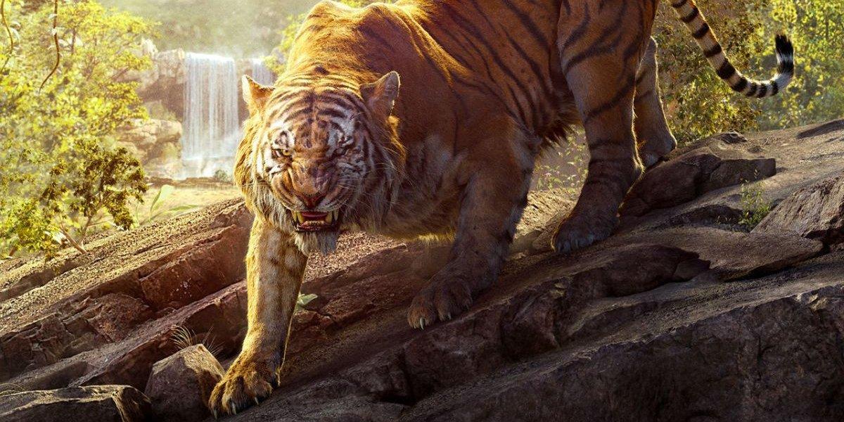 Shere Kahn (Idris Elba) in The Jungle Book
