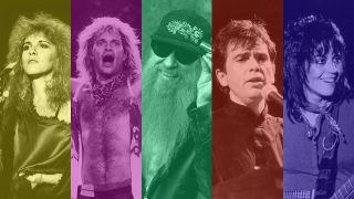 Stevie Nicks, David Lee Roth, Billy Gibbons, Peter Gabriel and Joan Jett