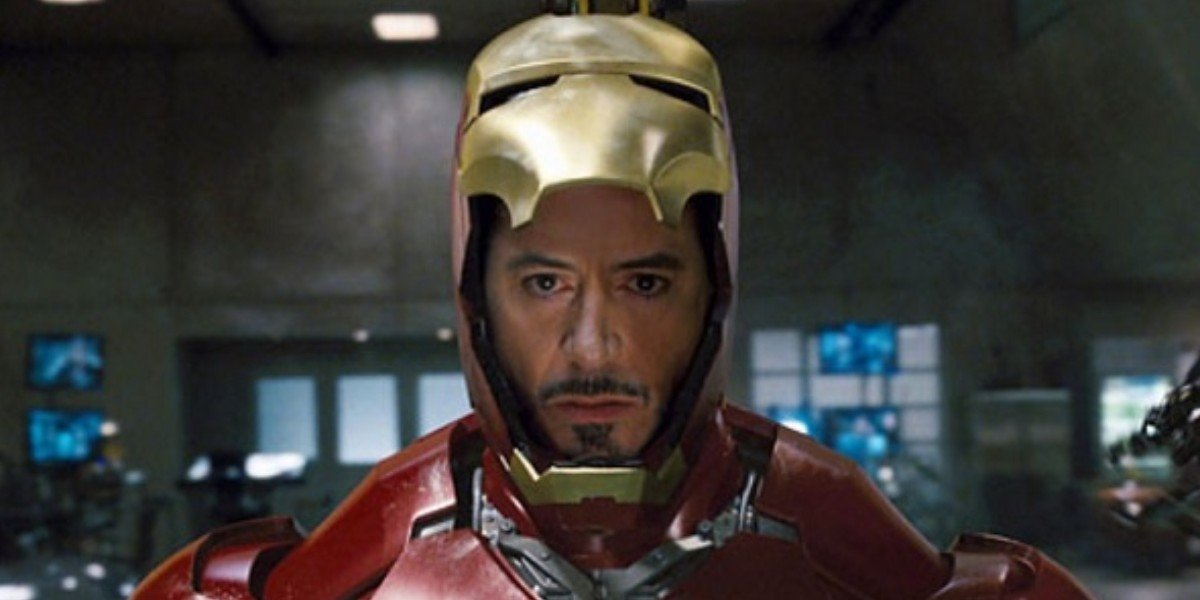Robert Downey Jr. as Tony Stark/Iron Man in Iron Man (2008)
