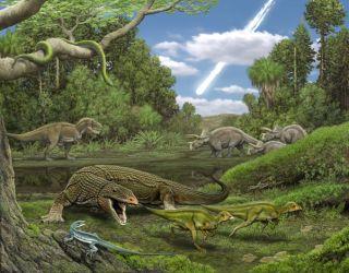 lizard illustration cretaceous period