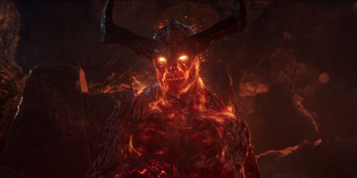 Surtur in Thor Ragnarok
