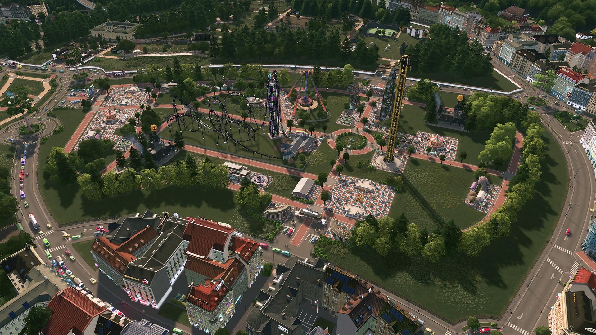 Resultado de imagen para Cities Skylines Parklife