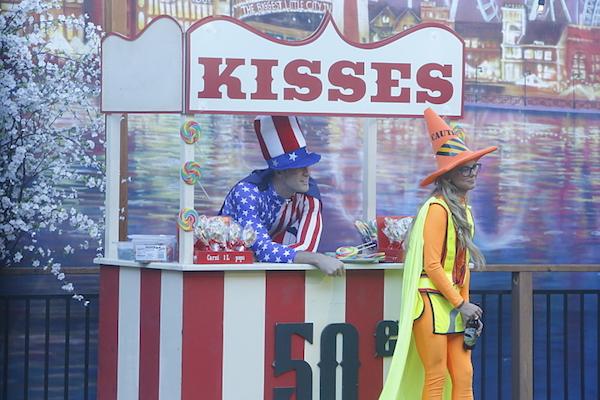 corey and nicole kisses