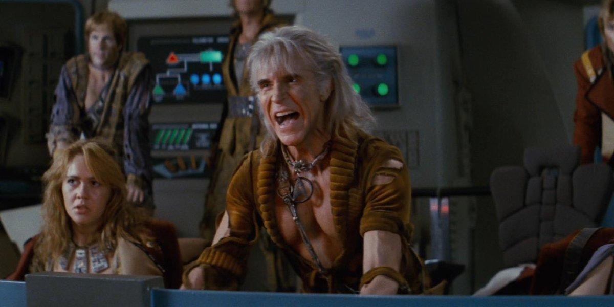 Star Trek II: The Wrath Of Khan Khan issuing orders to fire