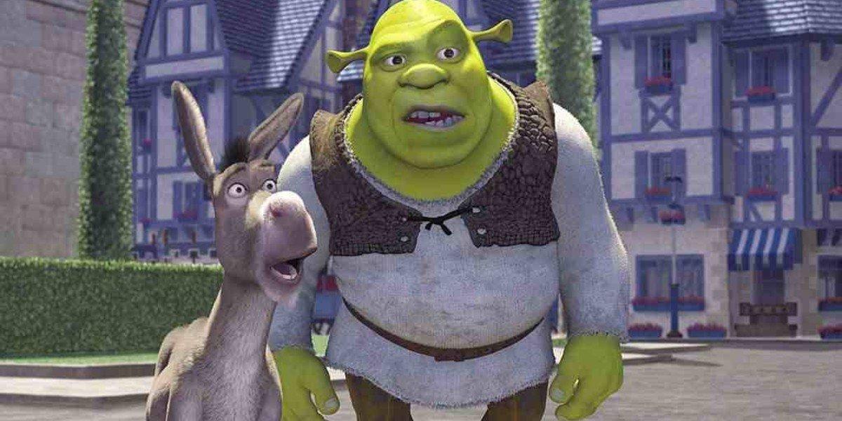 Screenshot from 2001's Shrek