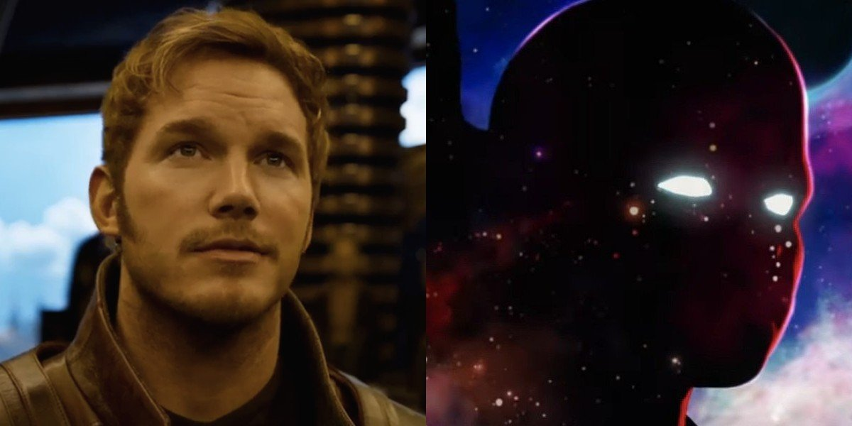 Peter Quill and The Watcher