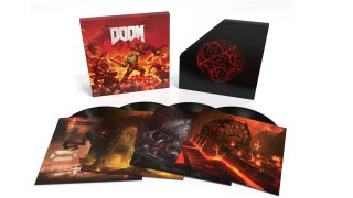 Doom (Original Game Soundtrack) Deluxe Double Vinyl. Image Credit: Laced Records.