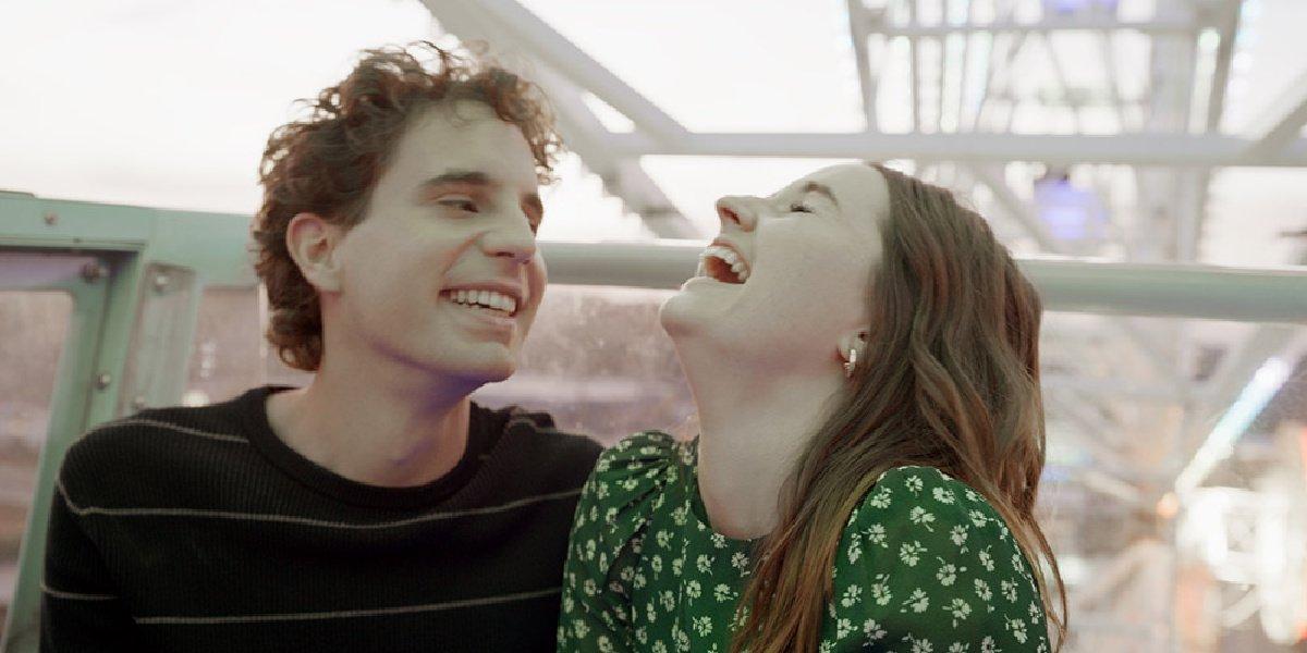 Ben Platt and Kaitlyn Dever in the trailer for Dear Evan Hansen.