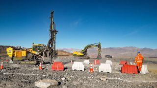 Giant Magellan Telescope construction