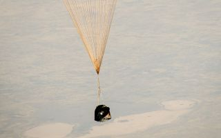 Expedition 36 Landing: Soyuz Descent