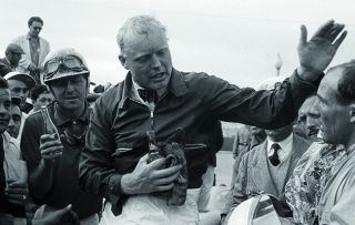 A profile of the golden boy of British motor racing in its 1950s heyday, Mike Hawthorn