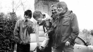 A promotional picture of the Stone Roses