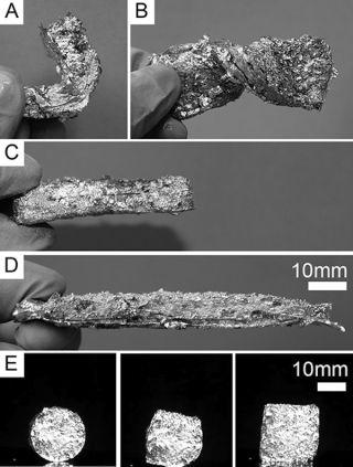 Metal-Foam Hybrid Material