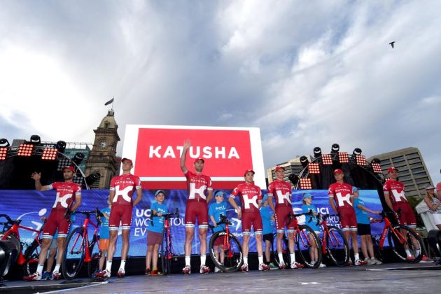 Katusha at the 2016 Tour Down Under