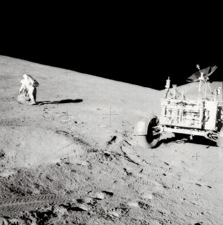 space history, lunar landing mission