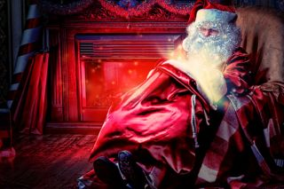 Santa and his bag of... magic mushrooms?