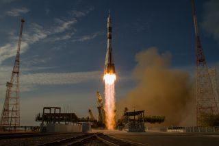 Soyuz launch in 2012