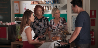 Home and Away spoilers, Leah Patterson, Irene Roberts, Marilyn Chambers, Justin Morgan