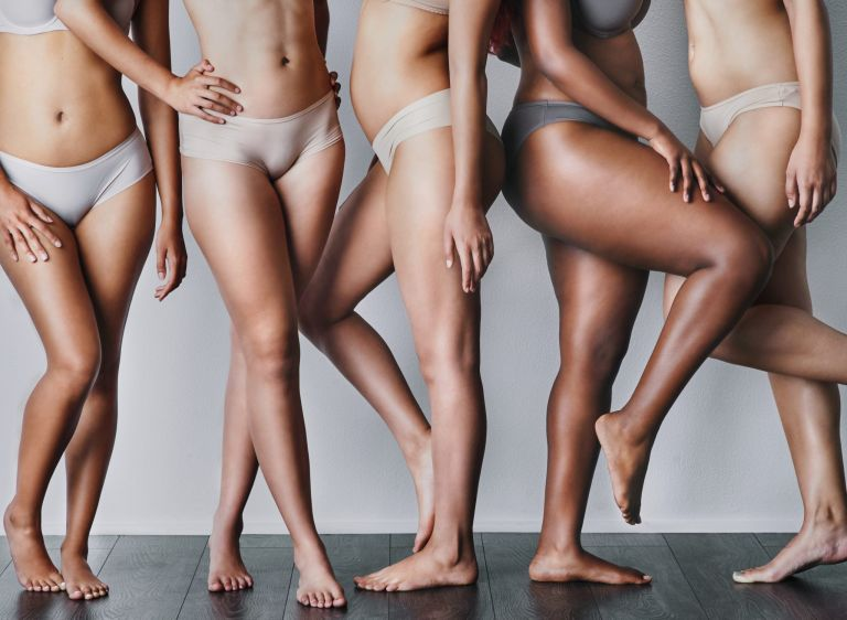 hairy bikini line