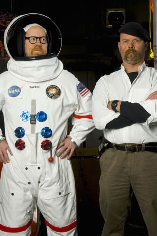TV's 'Mythbusters' Tackle Moon Landing Hoax Claims