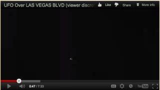 ufos swarming over Las Vegas
