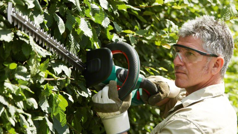 best cordless hedge trimmer: Bosch Cordless Hedgecutter