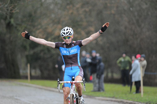 Kenneth van Compernolle, National Trophy, Rutland 2011