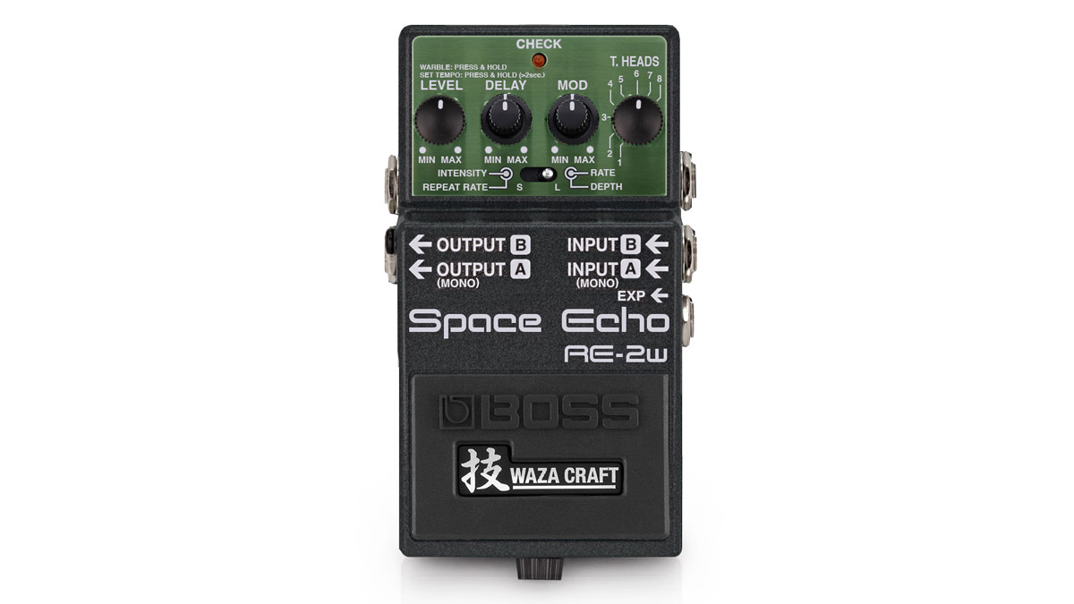 This could be the best compact Boss Space Echo pedal you'll never be able to buy