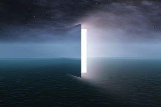 a door opening on the horizon