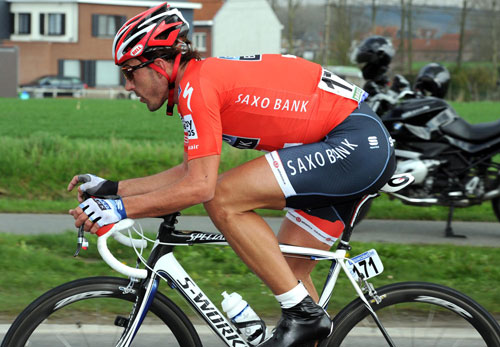 Fabian Cancellara solo, Tour of Flanders 2010