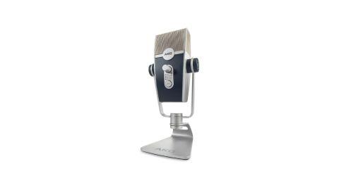 AKG Lyra microphone on white background
