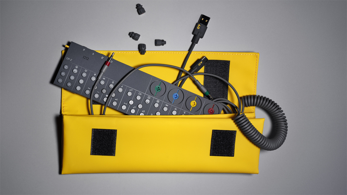 Teenage Engineering's OP-Z 'multimedia synth and sequencer' is finally here