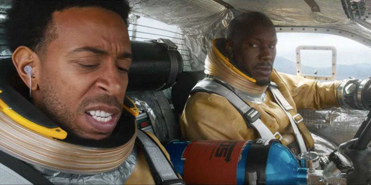 "Chris ""Ludacris"" Bridges and Tyrese Gibson in F9"