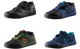 Leatt flat and clipless shoe range