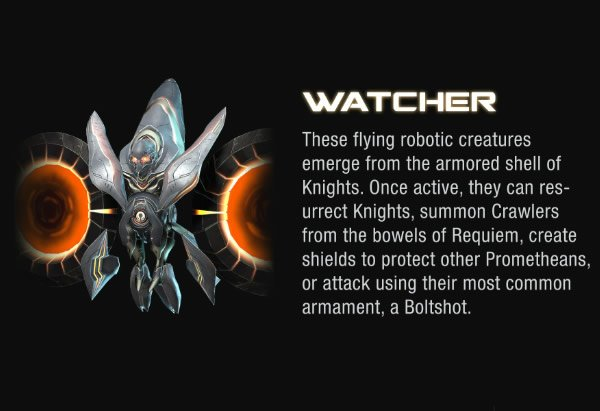 halo 4 promethean weapons enemies revealed with new images