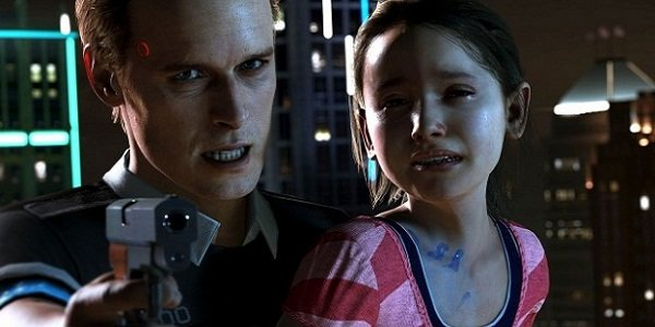 android holds child hostage in Detroit: Become Human