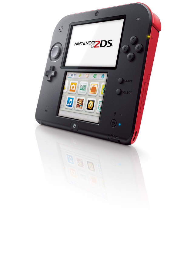 Nintendo 2DS Launching Alongside Pokemon X And Y #28586